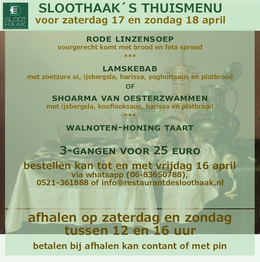 thuismenu 17 en 18 april